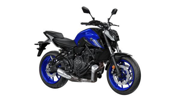 CocMotors – Yamaha MT07 2021 blue